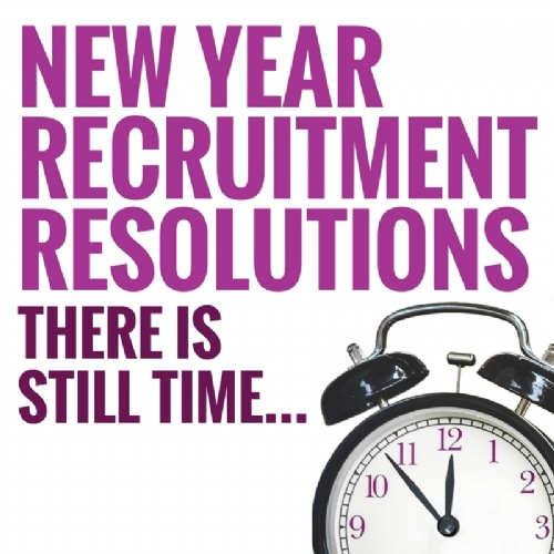 New Year Recruitment Resolutions