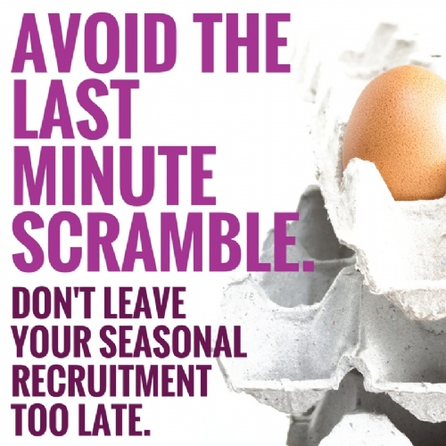 Avoid the Last Minute Scramble