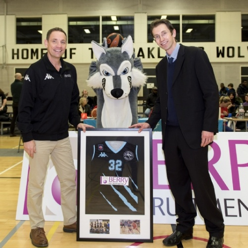 Slam dunk! Wolves find sponsor