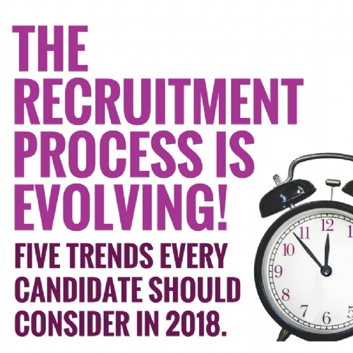 5 Trends Candidates Should Consider in 2018