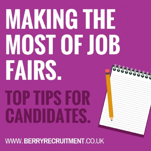 Making the most of Job Fairs