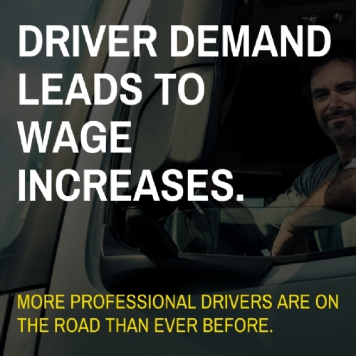 Driver demand leads to wage increases