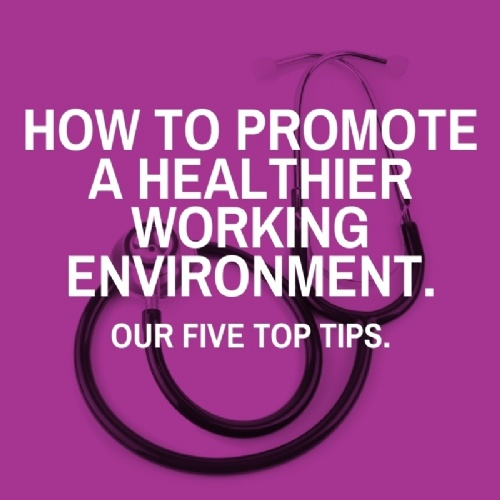How to Promote a Healthier Working Environment