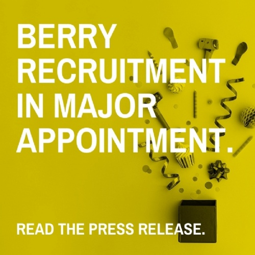 Berry Recruitment in Major Appointment