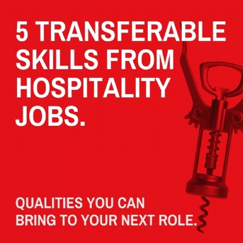 5 transferable skills from hospitality jobs